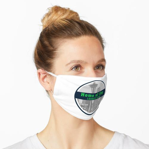 Seattle Heimat der lautesten Fans Maske