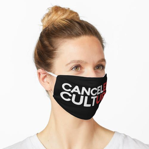 Abgebrochene Kultur Maske