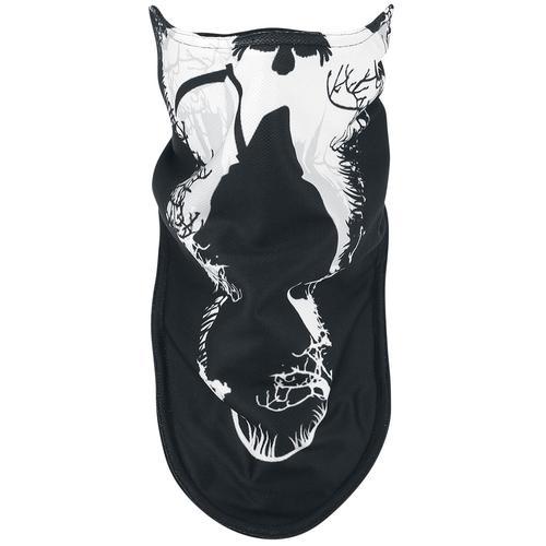 Sensenmann Biker Mask Maske - schwarz weiß