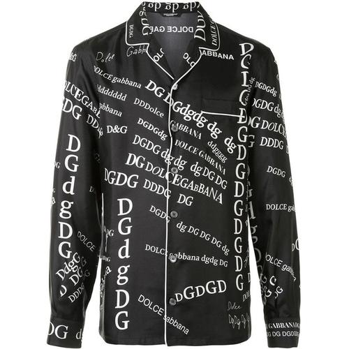 Dolce & Gabbana Hemd im Pyjama-Stil