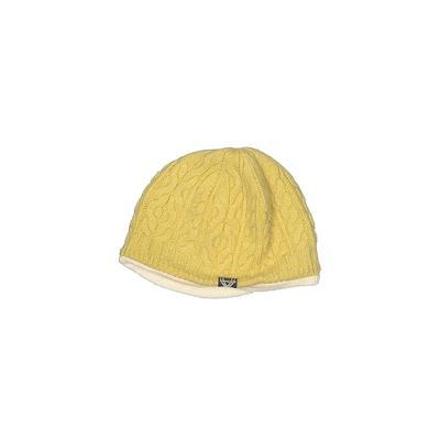 Spyder Beanie Hat: Yellow Solid ...