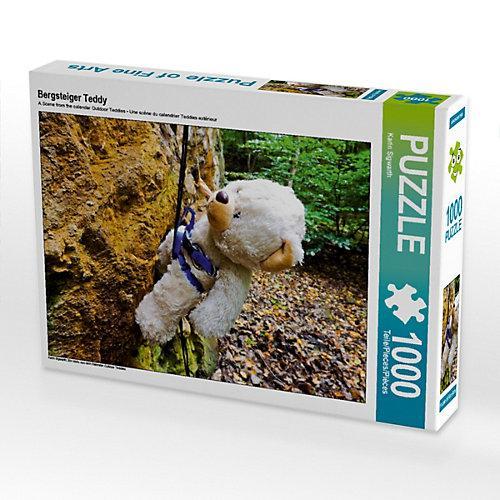 Bergsteiger Teddy Foto-Puzzle Bild von Karin Sigwarth Puzzle