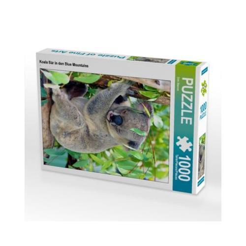 Koala Bär in den Blue Mountains Foto-Puzzle Bild von Dirk Stamm Puzzle