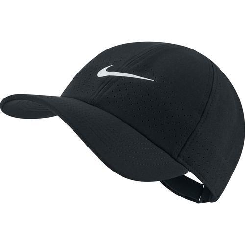 Nike U COURT ADVANTAGE Cap in black-white, Größe Einheitsgröße