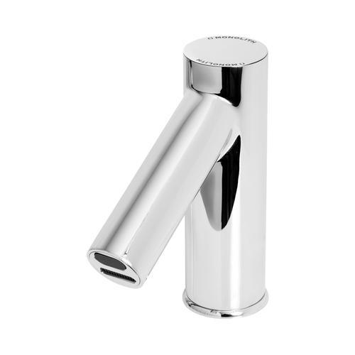 Monolith Wasserhahn mit Sensor - verchromtes Messing - Länge Hahn 120 MO-TA-04
