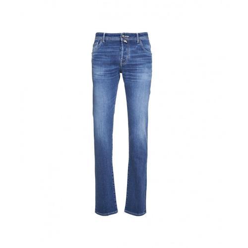 Jacob Cohen Herren Jeans Blau