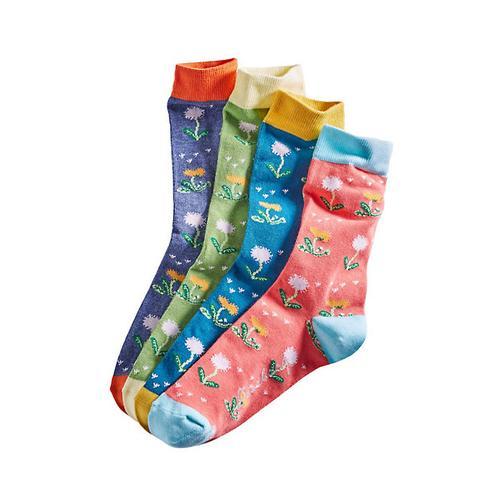 Deerberg Damen 4er Pack Socken Gunde bunt