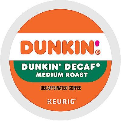 22 Ct Dunkin' Dunkin Decaf Coffee K-Cup® Pods. Coffee
