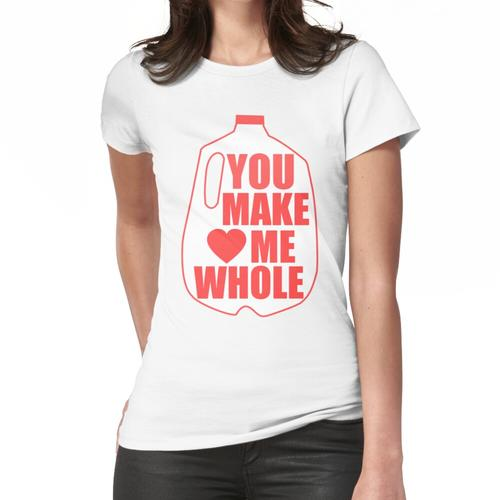 Nur mit dir bin ich Komplett Frauen T-Shirt