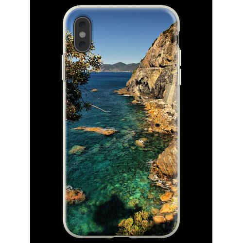 Ligurische Küste Flexible Hülle für iPhone XS Max