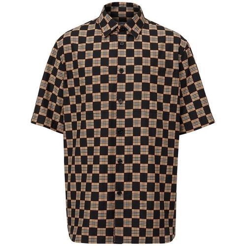 Burberry Hemd mit Schachbrettmuster