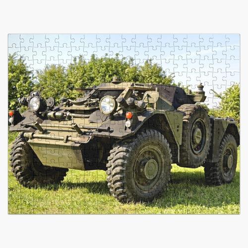 Britisches Armee-Frettchen-gepanzertes Auto Puzzle