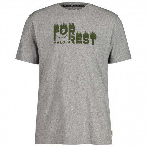 Maloja - WeissbucheM. - T-Shirt Gr XL grau