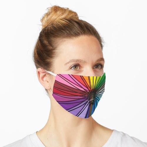 Regenbogenschirm Maske