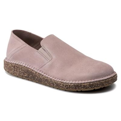 BIRKENSTOCK Callan Suede Leather Soft Pink Low Shoes