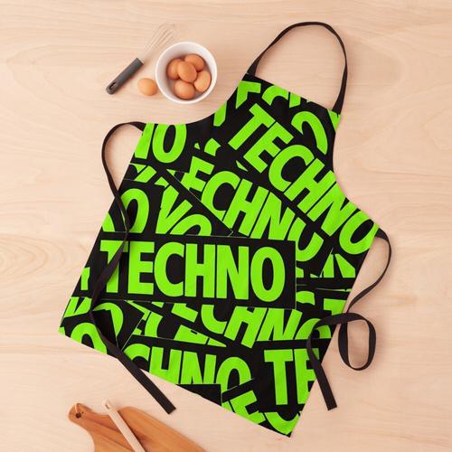 Techno Techno Techno Schürze