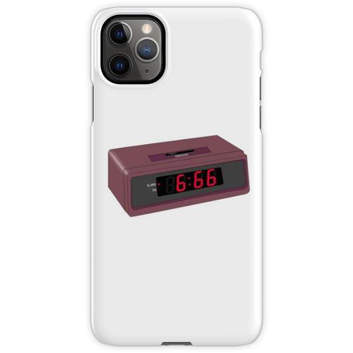 6:66 Teufel Wecker iPhone 11 Pro Max Handyhülle