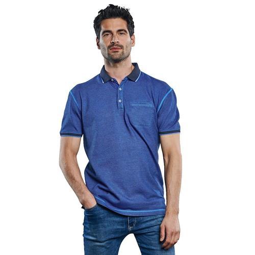 Poloshirt in besonderer Färbung Engbers Royalblau