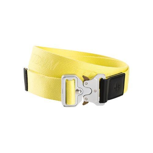 TOM TAILOR Denim Stoffgürtel, Schnall mit Schnappverschluß gelb Damen Stoffgürtel Gürtel Accessoires