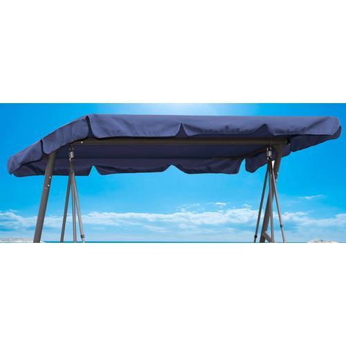 Quick Star Hollywoodschaukelersatzdach blau Sonnensegel Sonnenschirme -segel Gartenmöbel Gartendeko