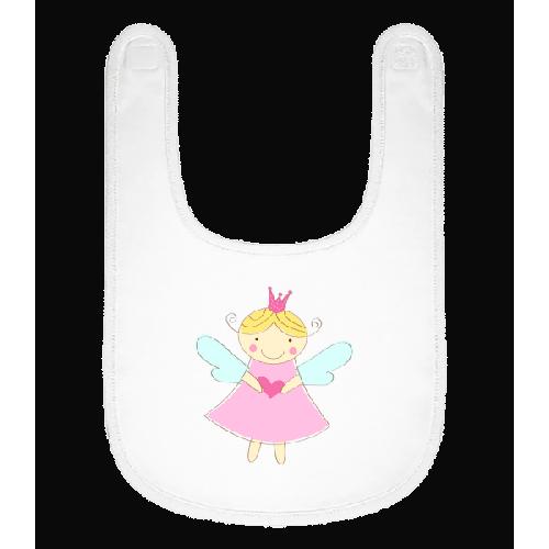 Kleine Fee Prinzessin - Baby Lätzchen