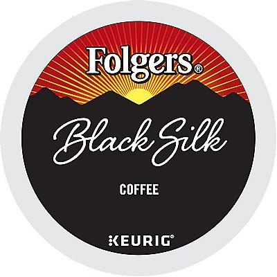 72 Ct Folgers Black Silk Coffee, 72-Count (3 Boxes Of 24) K-Cup® Pods. Coffee