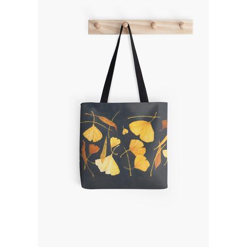 Ginkgoblätter Tasche