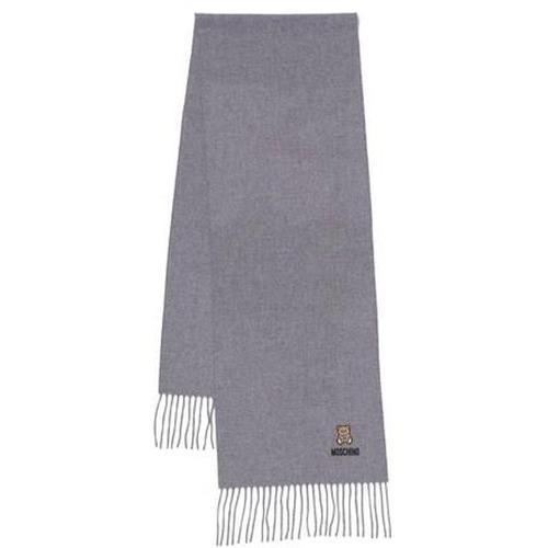 Moschino Tücher & Schals - Scarf - in hellgrau - für Damen