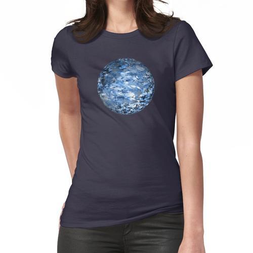 Im Wind - kristallin Frauen T-Shirt