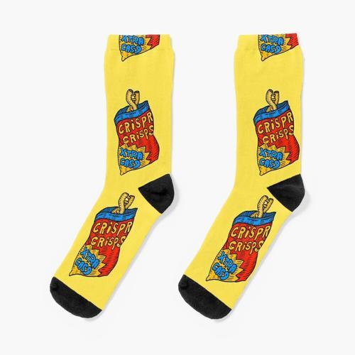 knusprige Chips, jetzt extra knusprig. extra cas9. Socken