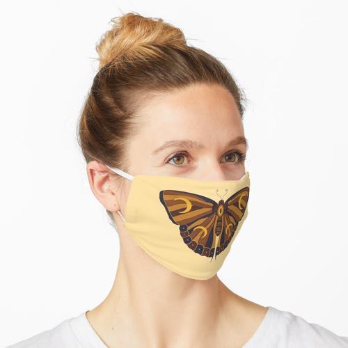 Honigbraune Motte Maske