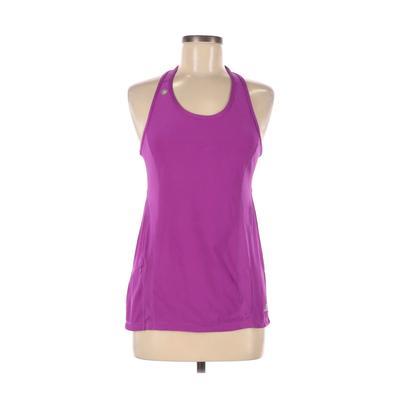 Road Runner Sports Active Tank Top: Purple Solid Activewear - Size Medium