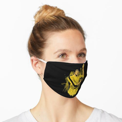 Bruce Lee gelber Anzug Maske