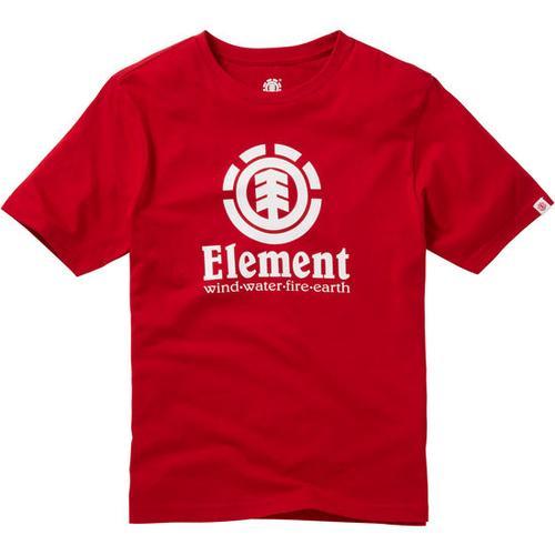 T-Shirt VERTICAL Element, rot, Gr. 176