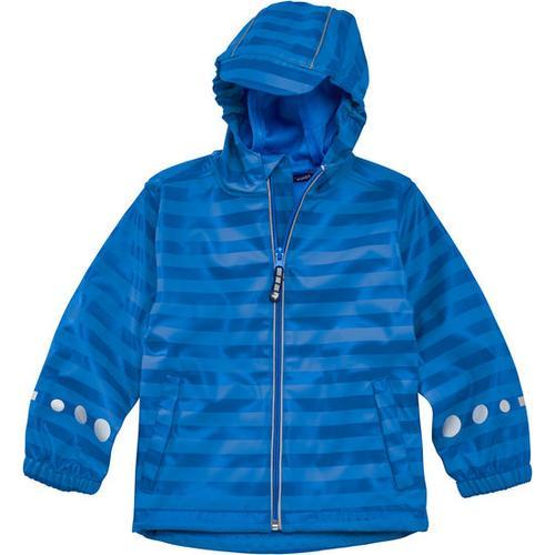 Regenjacke Ringel, blau, Gr. 104/110