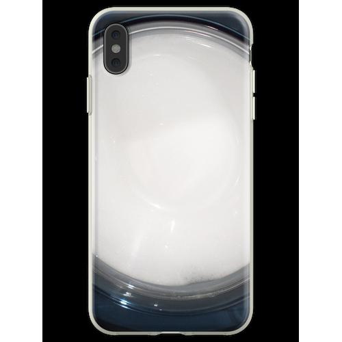 Seifenlauge Flexible Hülle für iPhone XS Max