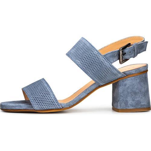Belmondo, Sandalette in blau, Sandalen für Damen Gr. 40