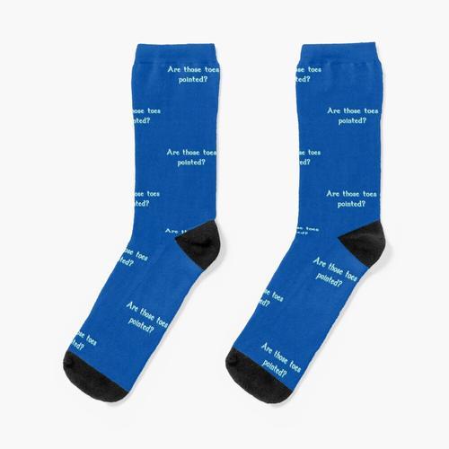 Sind diese Zehen spitz? Socken