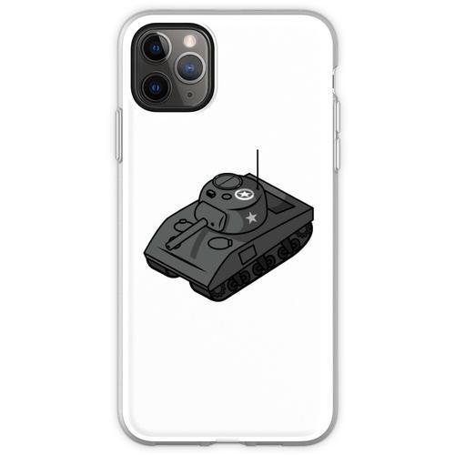 Kleiner Sherman Panzerstahl Flexible Hülle für iPhone 11 Pro Max