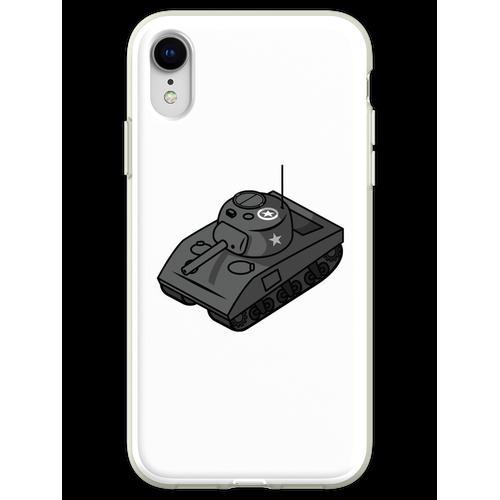 Kleiner Sherman Panzerstahl Flexible Hülle für iPhone XR