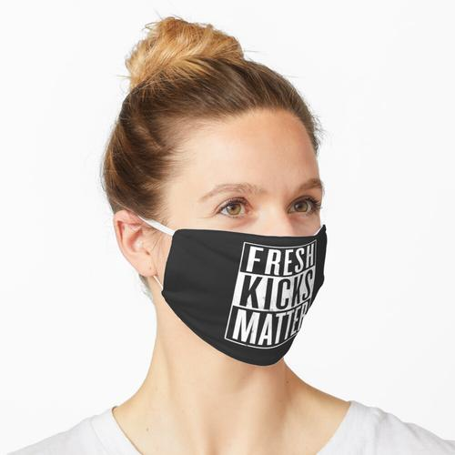 Fresh Kicks Matter, Sneakerhead Sneakers Liebhaber Maske