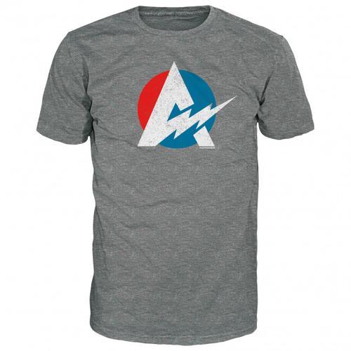 Alprausch - Blitzableiter T-Shirt Gr M grau