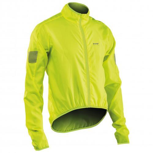 Northwave - Vortex Jacket - Fahrradjacke Gr M gelb/grün