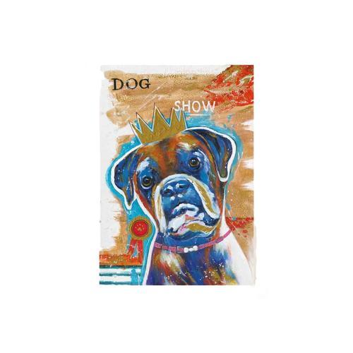 La Casa Ölbild Grafitti »Bulldogge« 70x140 cm 212025