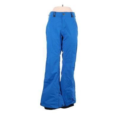 Bonfire Snow Pants - High Rise: Blue Activewear - Size Large