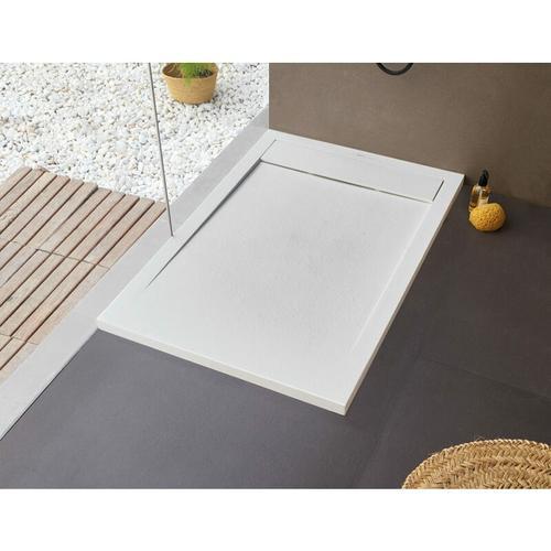BB NEW YORK Rechteckige Duschwanne 100 x 70 cm weiß