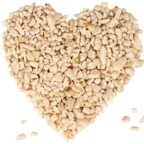 25 kg ® Erdnusskerne weiß gehackt HK Afrika - Lyra Pet