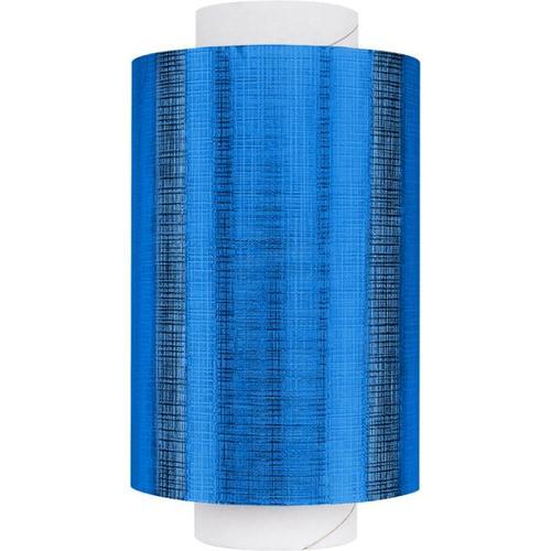 Fripac Alu-Haarfolie Super-Plus 15 my Geprägt, 100 m x 12 cm Blau Alufolie
