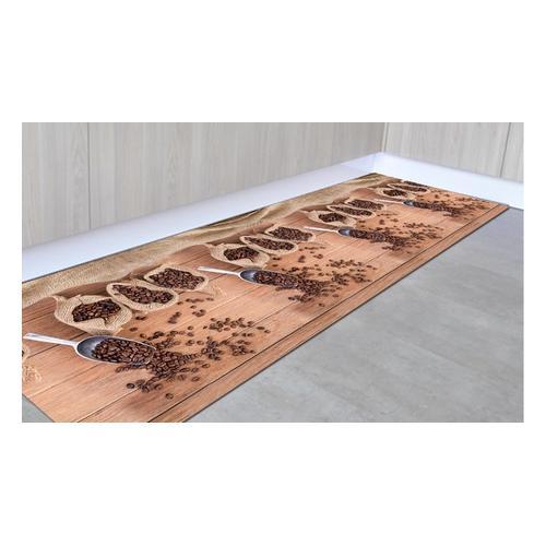Rutschfester Läufer: Kaffee / 50 x 100 cm