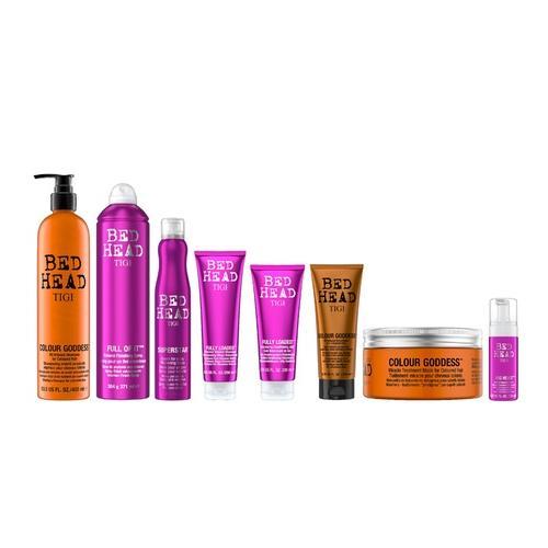 Haarpflege-Produkte: Fully Loaded Shampoo 250 ml + Balsam 200ml + Schaum 125 ml + Spray 371 ml
